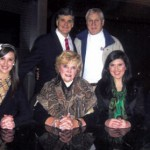 Fox News New York TV Host, Sean Hannity, with Bill, Rebecca, Nancy, Rachel, and Luke Whitmire