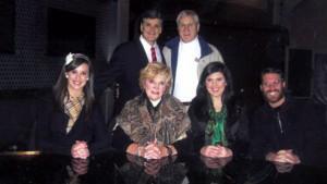Fox News New York TV Host, Sean Hannity, with Bill, Rebecca, Nancy, Rachel, and Luke Whitmire