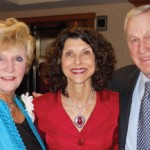 Nancy, Pam Tebow, Bull at Salvation Army Founders Day Luncheon