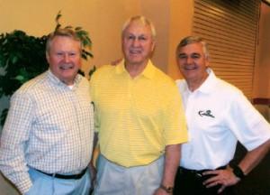 Jim Whitmire, Bull, and Ken Whitten - Sweet Jesus Retreat