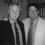 """Bull"" and Joe Namath. Best quarterback to ever play, Joe was Rookie of the Year in 1965 and I was Runner-up."
