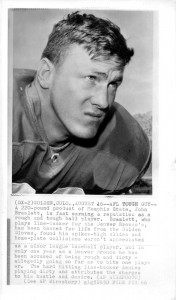 """AFL Tough Guy"" article photo – ""Not dirty, Just hustle"" (1966)"