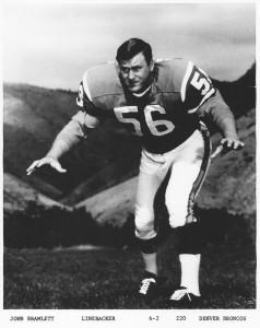 Denver Broncos press photo (1966)