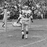 Bull during Denver Broncos game (1966)