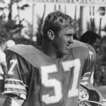 Bull after a defensive series for the Miami Dolphins (1968)