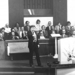 Preaching at Hickory Hills Baptist Church (1979)